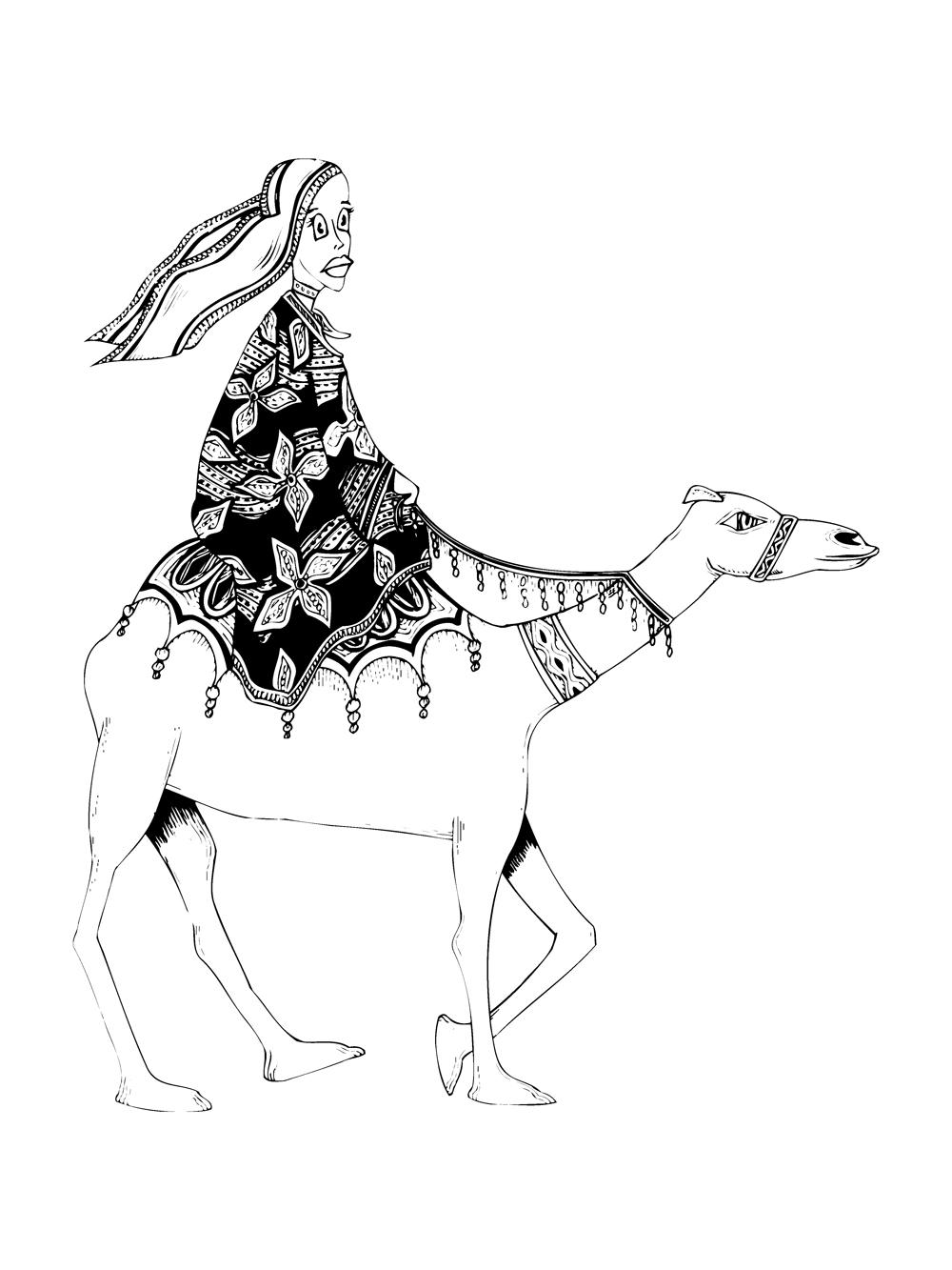 Camel-Girl